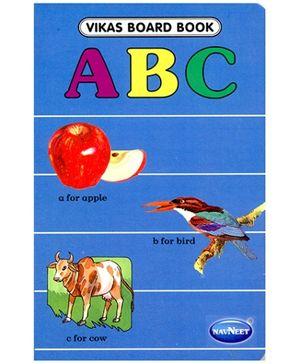 NavNeet Vikas Board Book ABC - English