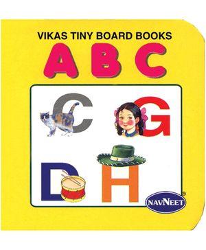 NavNeet Vikas Tiny Board Books ABC - English