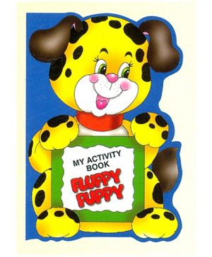 NavNeet My Activity Book Fluppy Puppy - English