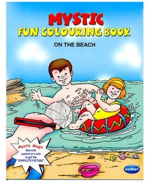 NavNeet Mystic Fun Colouring Book On The Beach - English
