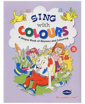 NavNeet Sing With Colour Part B - English