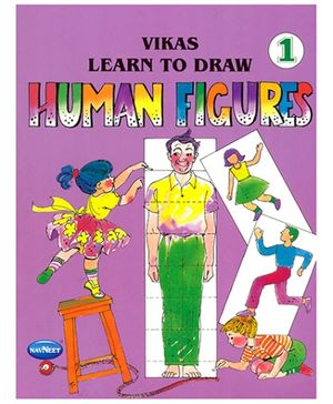 NavNeet Vikas Learn To Draw Human Figures Part 1 - English