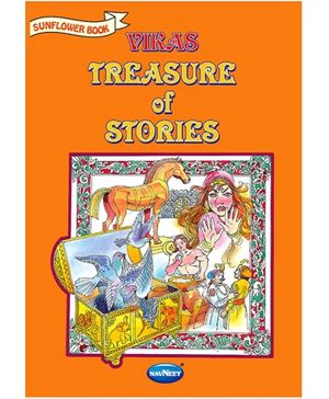 NavNeet Treasure Of Stories Sunflower Book - English