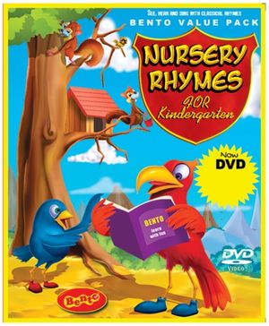 Bento Nursery Rhymes For Kindergarten - DVD