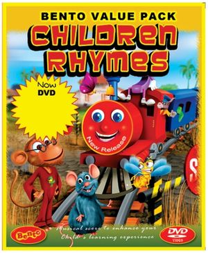 Bento Children Rhymes - DVD