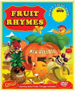 Bento Fruit Rhymes - DVD
