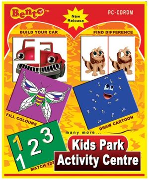 Bento Kids Park Activity Center DVD - English