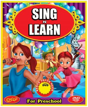 Bento Sing N Learn With Us DVD - English