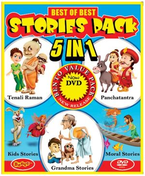 Bento Best Of Best Stories Pack For Preschool 5 In 1 DVD - English