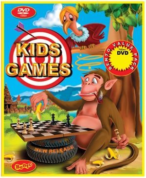 Bento Kids Games DVD - English