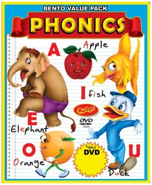 Bento Phonics DVD - English