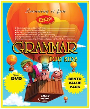 Bento Grammar For Kids DVD - English