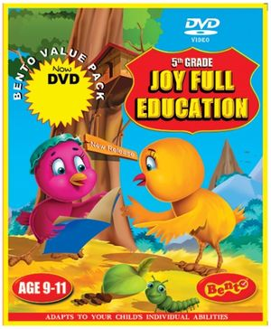 Bento Fifth Grade Joyful Education DVD - English