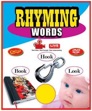 Bento Rhyming Words Live DVD