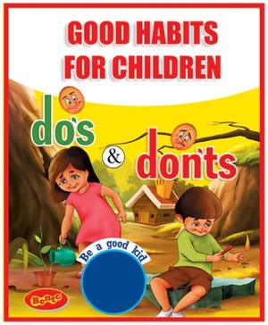 Bento Good Habits For Children Dos And Dont DVD - English