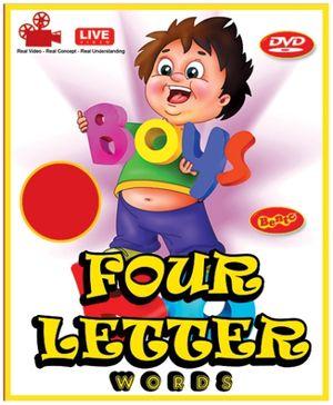 Bento Four Letter Words DVD - English