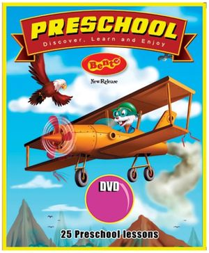 Bento Preschool English DVD