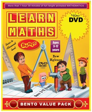 Bento Learn Maths DVD - English