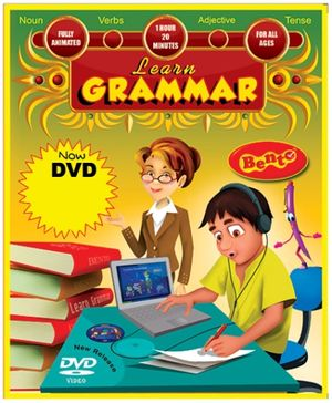 Bento Learn Grammar DVD - English