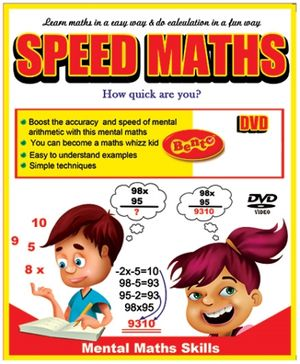 Bento Speed Maths DVD - English