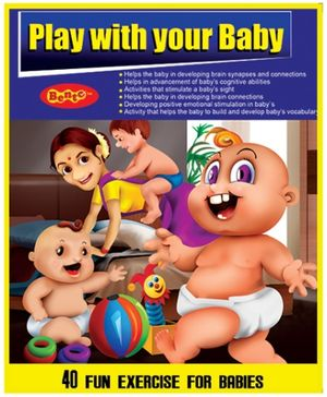 Bento Play With Your Baby DVD - English