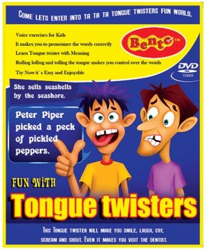 Bento Fun With Tongue Twisters DVD - English