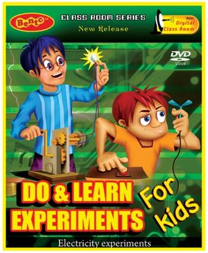 Bento Do And Learn Experiments DVD - English