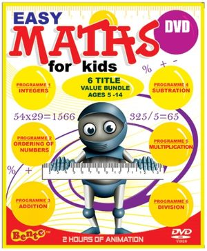 Bento Easy Maths for Kids - English
