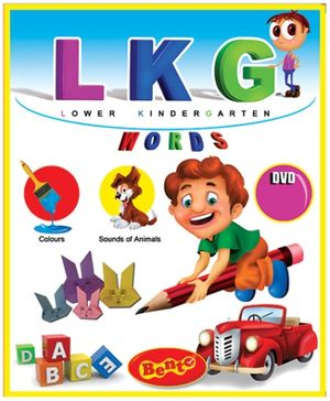 Bento LKG Words DVD - English