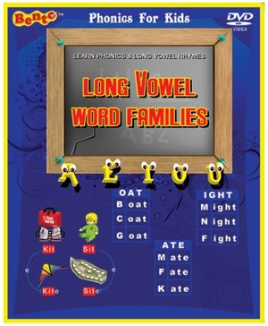 Bento Long Vowel Word Families - English