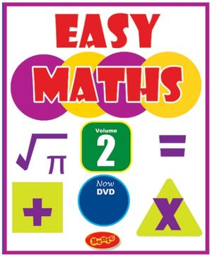 Bento Easy Maths Volume 2 DVD - English