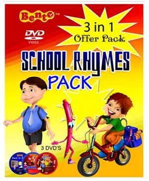 Bento School Rhymes Pack DVD - English