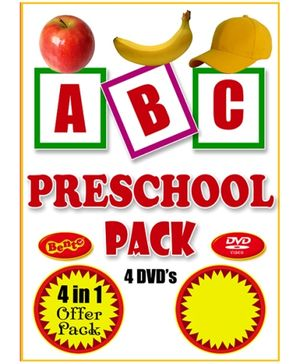 Bento ABC Preschool Pack DVD - English