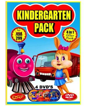 Bento Kindergarten Pack DVD - English