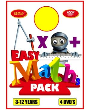 Bento Easy Maths Pack DVD - English