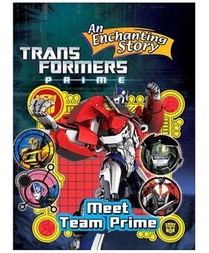 Sterling Transformers Meet Team Prime Story Book