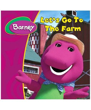 Sterling Barney Lets Go To The Farm Story Book