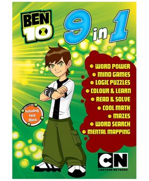 Sterling Ben 10 - 9 In 1 English