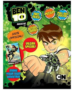 Sterling Ben 10 Magazine Volume 7 - English