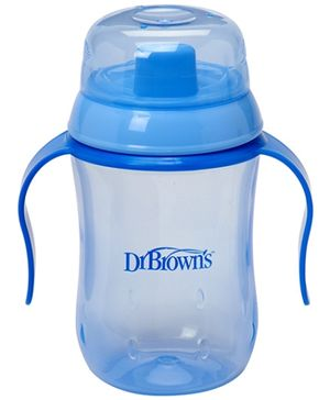 Dr Browns Training Cup Light Blue - 270 ml