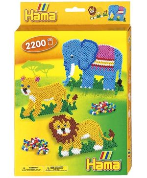 Hama Beads Hanging Box - Jungle World