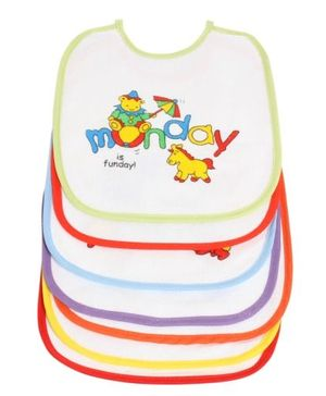 1st Step Baby Bibs - Set Of 7