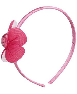 Barbie Deep Pink Hair Band With Barbie Icon
