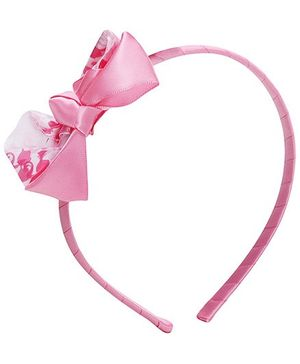 Barbie Pink Bow Ribbon Hair Band