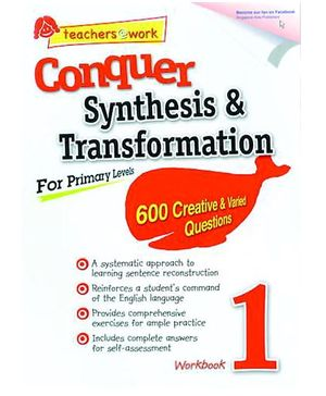 Singapore Asian Publication Conquer Synthesis And Transformation For Primary 1 - English