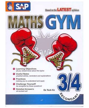 Singapore Asian Publication Maths Gym Secondary 3 - 4 English