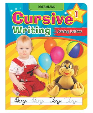 Dreamland Cursive Writing Capital And Small Part 1 - English