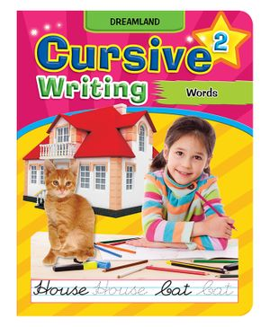 Dreamland Cursive Writing Words Part 2 - English