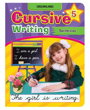 Dreamland Cursive Writing Sentences Part 5 - English