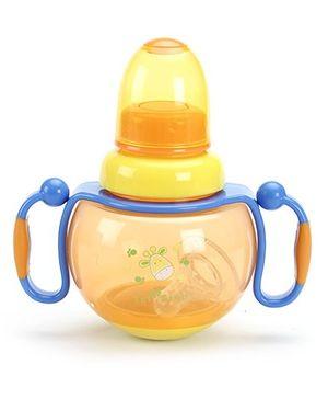 1st Step Feeding Bottle with Handle Orange - 260 ml